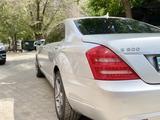 Mercedes-Benz S 500 2007 года за 6 500 000 тг. в Нур-Султан (Астана) – фото 4