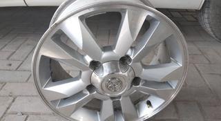 Есть только 1диск r17 5x150 j8 ET60 на Toyota L.C200 за 30 000 тг. в Алматы