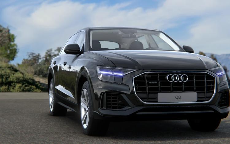 Audi Q8 55 TFSI Quattro 2021 года за 32 949 800 тг. в Алматы
