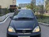 Mercedes-Benz A 160 2001 года за 2 400 000 тг. в Нур-Султан (Астана) – фото 3