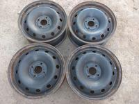 Оригинальные металлические диски (R15 4*100 ЦО60 6J ЕТ43 Part за 35 000 тг. в Нур-Султан (Астана)