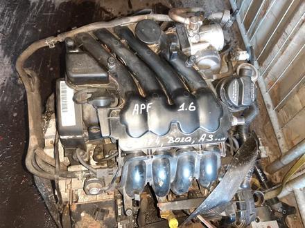 Контрактный двигатель APF 1.6 Volkswageт Golf IV Фольксваген Гольф 4 за 185 000 тг. в Семей