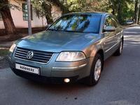 Volkswagen Passat 2002 года за 2 100 000 тг. в Алматы