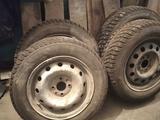 Шины на ВАЗ комплект с дисками на 14 зима за 100 000 тг. в Костанай – фото 4