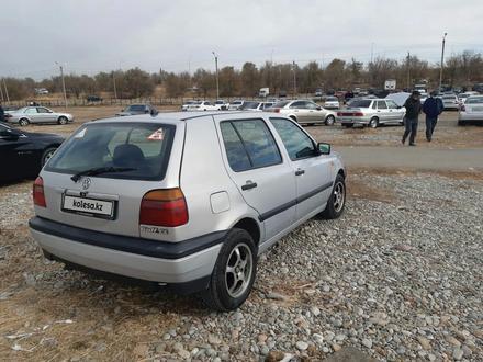 Volkswagen Golf 1996 года за 1 700 000 тг. в Шымкент – фото 5