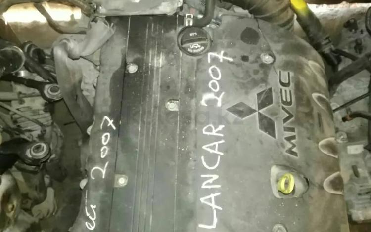 Двигатель на Митсубиси Лансер 10.2, 0л 4b11 за 400 000 тг. в Алматы