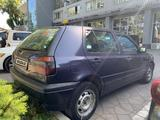 Volkswagen Golf 1995 года за 1 700 000 тг. в Алматы – фото 5