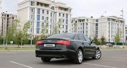 Audi A6 2011 года за 7 000 000 тг. в Нур-Султан (Астана) – фото 4
