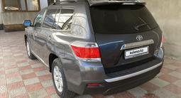 Toyota Highlander 2013 года за 13 000 000 тг. в Тараз – фото 3