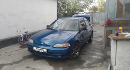 Honda Civic 1993 года за 1 200 000 тг. в Алматы – фото 3
