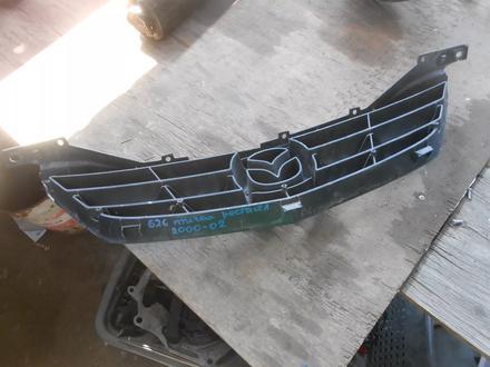Решетка радиатора Mazda 626 птичка рестайл 2000-02 за 10 000 тг. в Алматы – фото 2