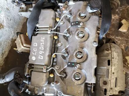 Двигатель тойота авенсис дизель 2.0 за 200 000 тг. в Алматы