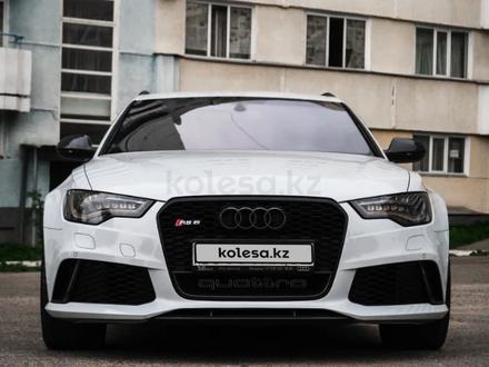 Audi RS 6 2014 года за 23 000 000 тг. в Алматы – фото 12