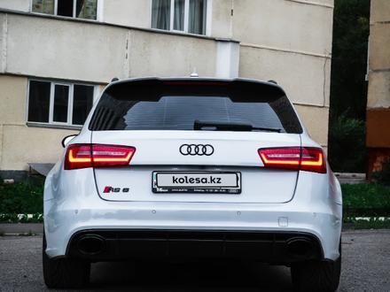 Audi RS 6 2014 года за 23 000 000 тг. в Алматы – фото 5
