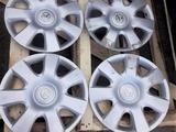 Штампованные диски R15 оригинал TOYOTA c шинами MICHELIN 205 65R15 за 95 000 тг. в Алматы – фото 3
