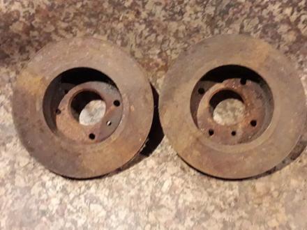 Диски тормозные передние на Nissan Prarie PRO, v2.0, 2.4 (1991… за 4 500 тг. в Караганда – фото 2