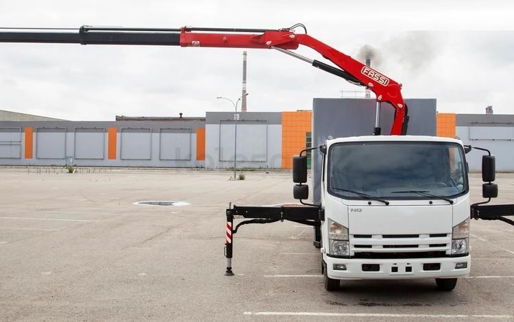 Jac  N 80 с манипулятором 3,2 тонны 2021 года за 22 523 000 тг. в Караганда