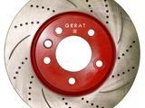 Тормозные диски Gerat. Тормозные колодки Gerat в Караганда