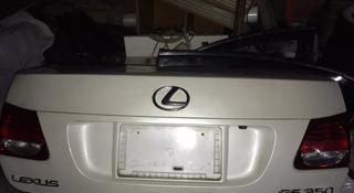 Крышка багажника на 2gr-FSE Lexus GS350 s190 за 30 000 тг. в Алматы