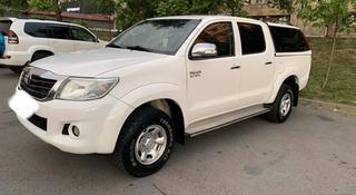 Toyota Hilux 2014 года за 9 500 000 тг. в Алматы