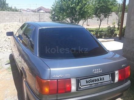 Audi 80 1990 года за 1 300 000 тг. в Шымкент – фото 5