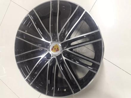 Комплект новых дисков на кайен 21/5/130 вылет 60 ширина 11/9/5. за 350 000 тг. в Актобе – фото 2