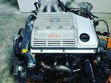 Мотор 1mz-fe АКПП Двигатель toyota Highlander коробка (тойота хайландер) за 45 123 тг. в Алматы