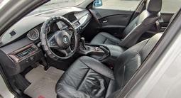 BMW 530 2006 года за 2 775 500 тг. в Кордай – фото 5