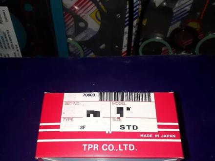 Toyota запчасти двигатель (поршневые кольца) 2-V.3-V за 10 000 тг. в Алматы – фото 2