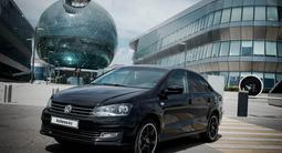 Volkswagen Polo 2016 года за 4 950 000 тг. в Нур-Султан (Астана) – фото 3