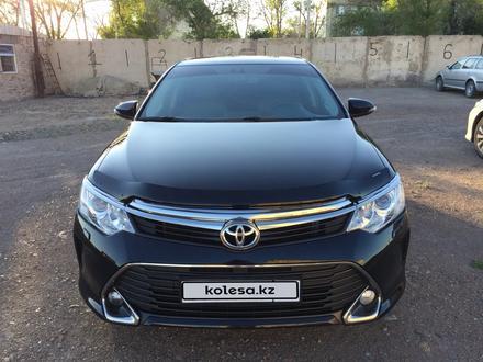 Toyota Camry 2014 года за 10 400 000 тг. в Караганда – фото 3