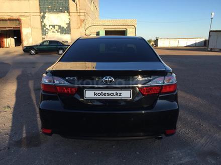 Toyota Camry 2014 года за 10 400 000 тг. в Караганда – фото 7