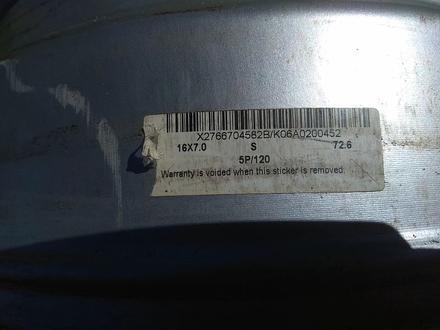 """Оригинальные легкосплавные диски """"DMS"""" на BMW 3 (Германия R16 5*1 за 130 000 тг. в Нур-Султан (Астана) – фото 11"""