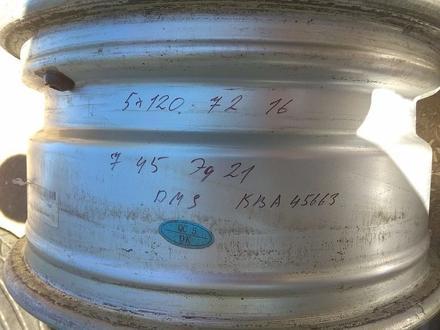 """Оригинальные легкосплавные диски """"DMS"""" на BMW 3 (Германия R16 5*1 за 130 000 тг. в Нур-Султан (Астана) – фото 12"""
