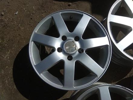 """Оригинальные легкосплавные диски """"DMS"""" на BMW 3 (Германия R16 5*1 за 130 000 тг. в Нур-Султан (Астана) – фото 4"""