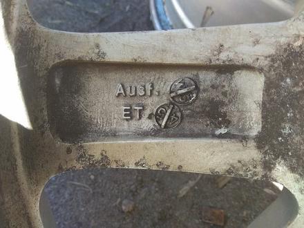 """Оригинальные легкосплавные диски """"DMS"""" на BMW 3 (Германия R16 5*1 за 130 000 тг. в Нур-Султан (Астана) – фото 8"""