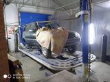 Устранение перекосов кузова, правка а/м на стапеле в Костанай – фото 2
