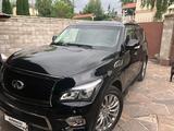 Infiniti QX80 2015 года за 18 500 000 тг. в Алматы – фото 5