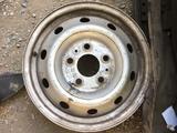 Диски железные r16 5 дырки за 20 000 тг. в Тараз – фото 2