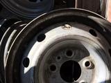 Диски железные r16 5 дырки за 20 000 тг. в Тараз – фото 5