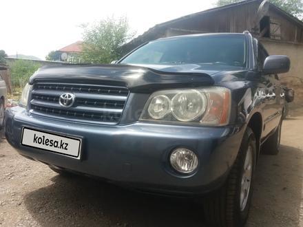 Toyota Highlander 2003 года за 6 100 000 тг. в Алматы – фото 2