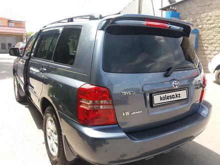 Toyota Highlander 2003 года за 6 100 000 тг. в Алматы – фото 5