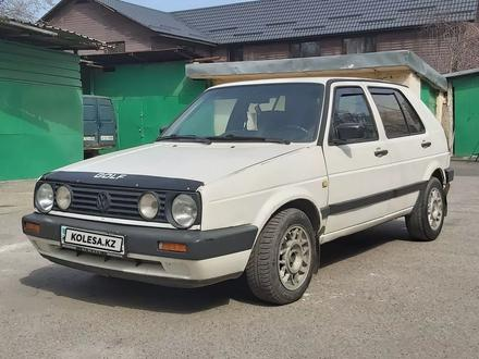 Volkswagen Golf 1986 года за 800 000 тг. в Алматы