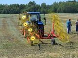 МТЗ  Грабли ворошилки Harvest WR8 (ГКП 6, 1м), спица 7мм 2021 года за 1 000 000 тг. в Семей – фото 2