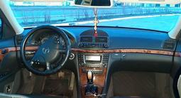 Mercedes-Benz E 240 2002 года за 3 750 000 тг. в Костанай – фото 5