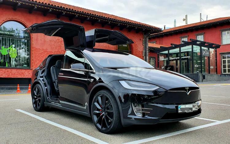 Tesla Model X 2017 года за 52 500 000 тг. в Алматы