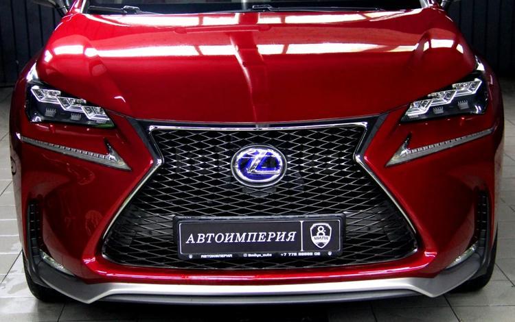 Lexus NX 300h 2014 года за 16 800 000 тг. в Алматы