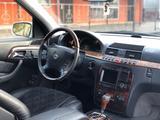Mercedes-Benz S 320 1999 года за 3 750 000 тг. в Алматы – фото 5