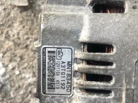 Генератор на Митсубиси Оутлендер 2.4 литра 4g69 за 20 000 тг. в Караганда – фото 2