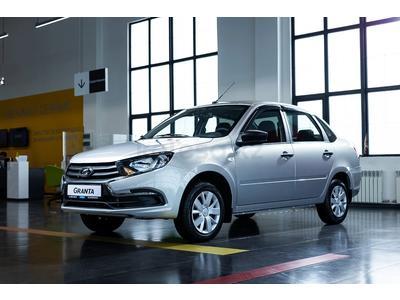 ВАЗ (Lada) Granta 2190 (седан) Standart 2021 года за 3 562 000 тг. в Атырау